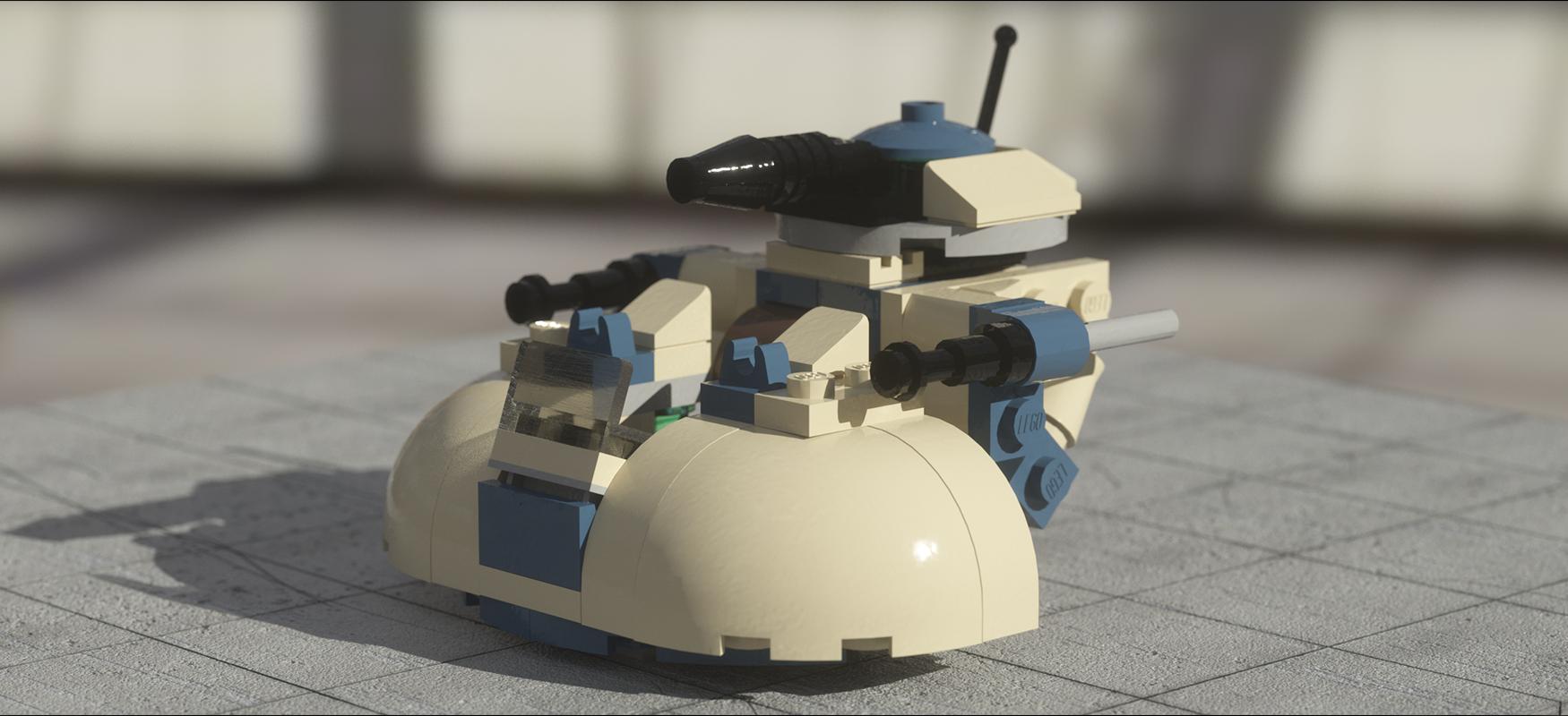 Project Lego Mini AAT