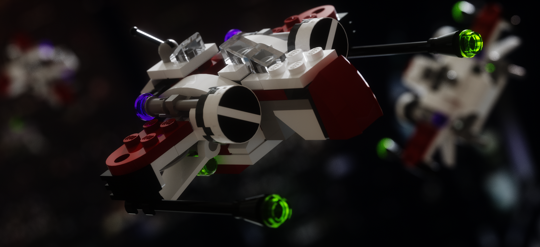 Project Lego Mini ARC-170 Starfighter